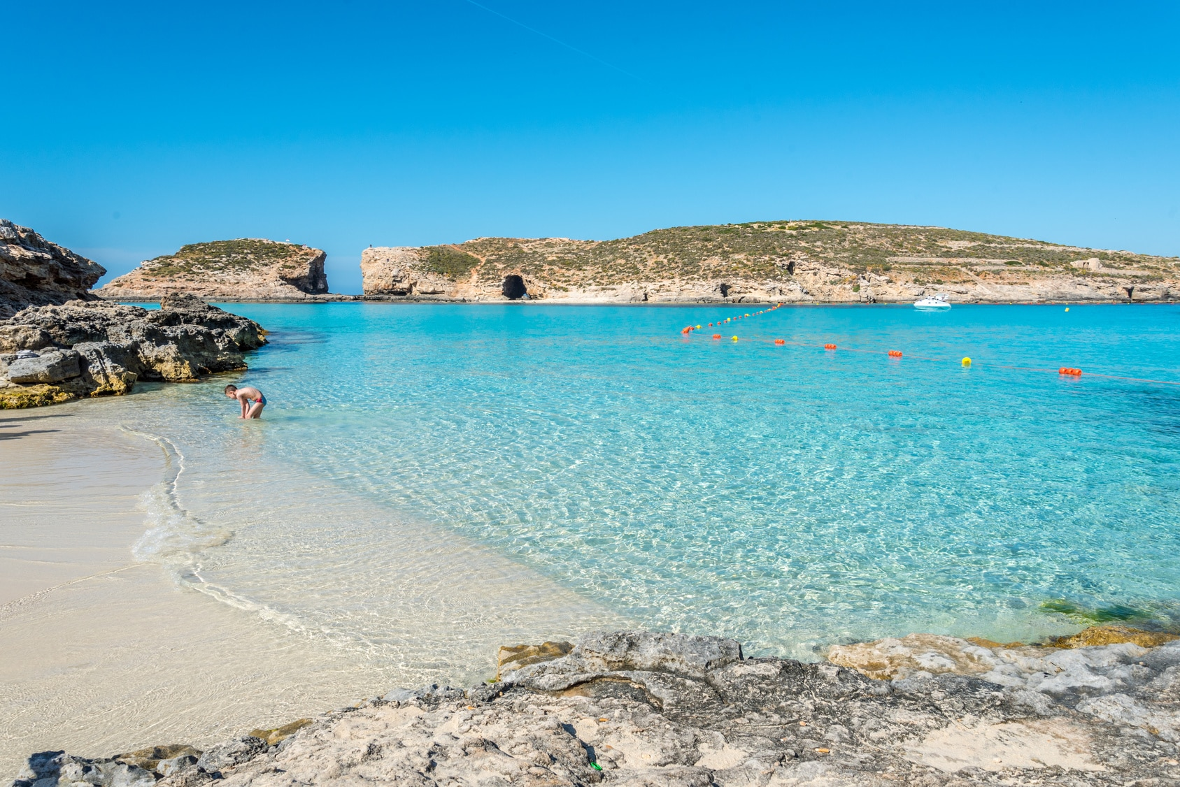 Comino, Blue Lagoon – One of Malta's paradises
