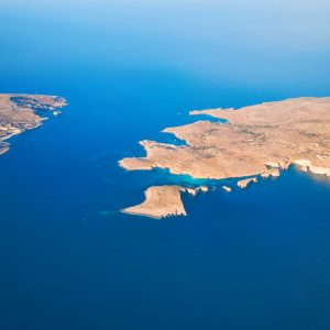 malta and gozo from air