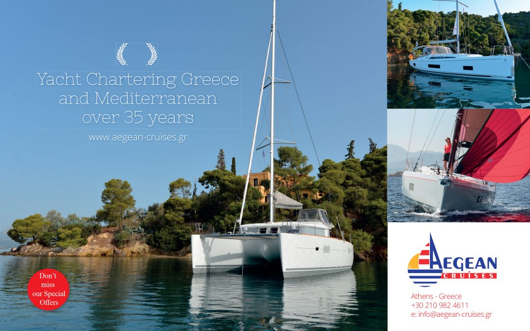 "YACHT CHARTER IN GREECE with ""AEGEAN CRUISES"""